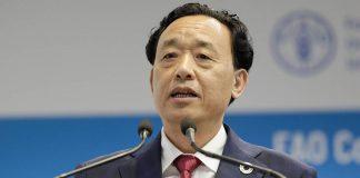 Qu Dongyu, FAO Director General