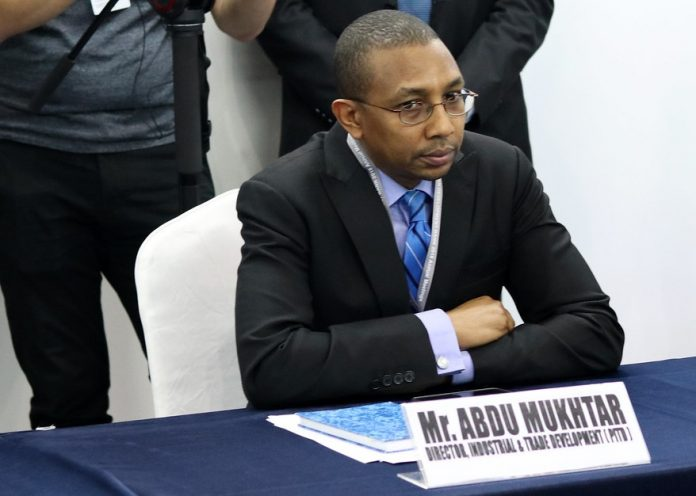 Abdu Mukhtar, AfDB Director for Industrial and Trade Development