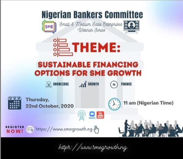Nigerian Bankers Committee Hosts Webinar on Sustainable Financing for SMEs