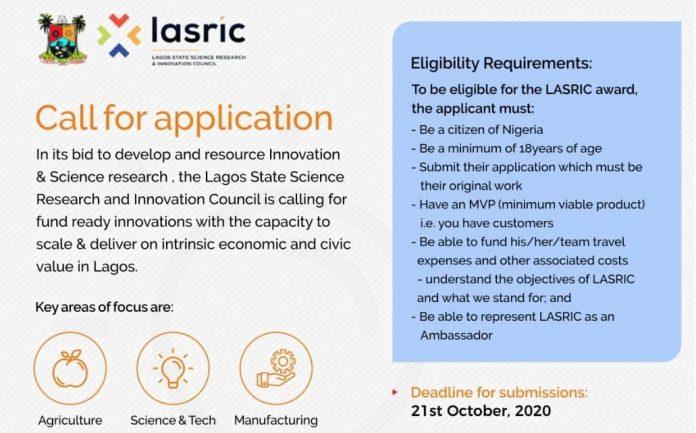 LASRIC-Innovation-Award-2020
