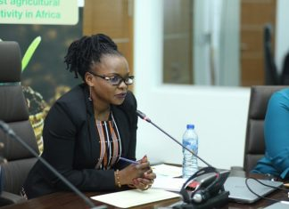Marie Claire Kalihangabo, Coordinator of the Africa Fertilizer Financing Mechanism