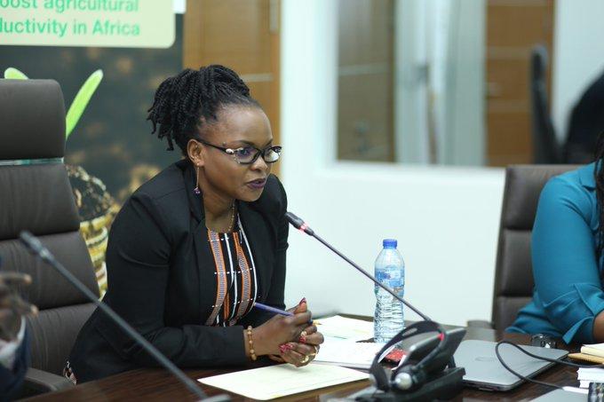 Marie Claire Kalihangabo, Coordinator of the Africa Fertilizer Financing Mechanism
