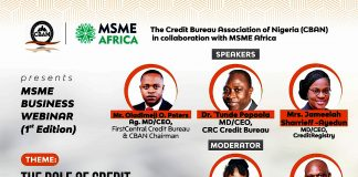 CBAN MSME AFRICA MSME BUSINESS WEBINAR