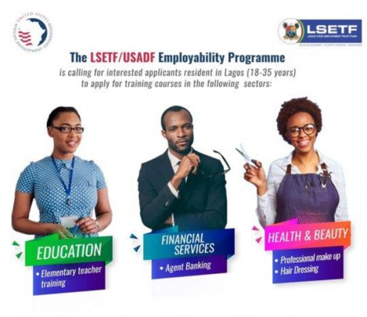 LSETF/USADF Employability &Vocational Training Project