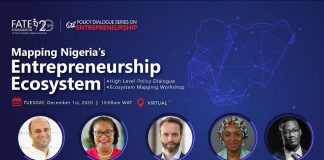 FATE Foundation Hosts Policy Dialogue on Entrepreneurship on December 1, 2020