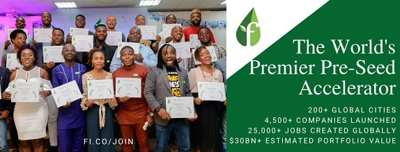 Founder Institute opens Applications for Startup Accelerator in Abuja, taking place 100% online