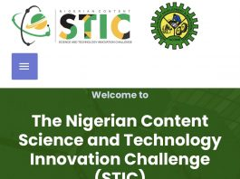 Nigerian Content Science and Technology Innovation Challenge