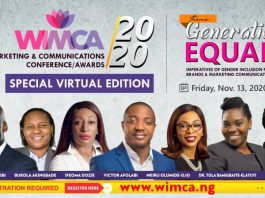 Brand Communicator Set To Hold WIMCA 2020 Nov. 13