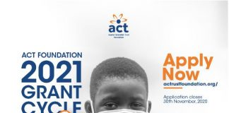 ACT Foundation Grant Cycle