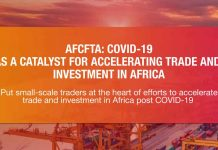 Put small-scale traders at the heart of efforts to accelerate trade and investment in Africa post COVID-19
