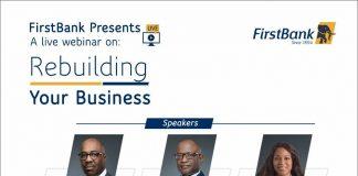 FirstBank to host SME webinar on rebuilding businesses