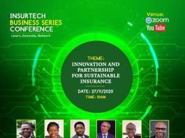 First-Ever Insurance and Technology Conference in Nigeria to hold on November 27