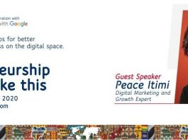 First Bank Partner Google Host Webinar on 'Entrepreneurship in Times Like This'