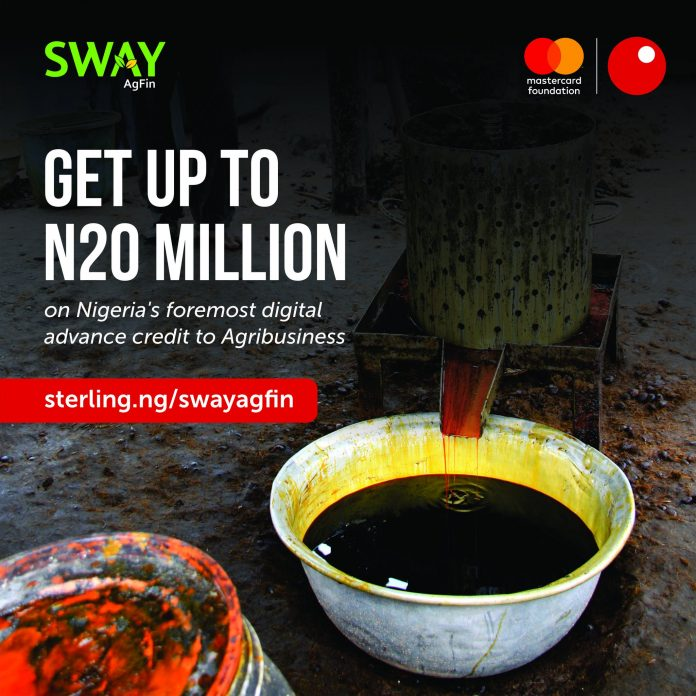 Call for Applications: Sterling Bank & Mastercard Foundation SWAY AGFIN Fund for Nigeria Agropreneurs