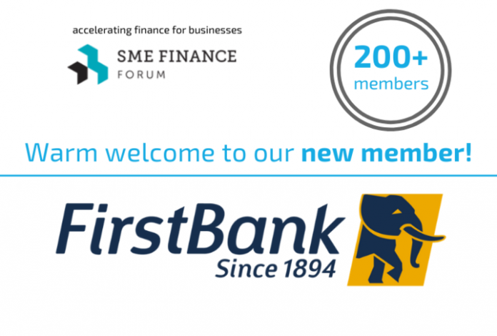 First Bank Nigeria Joins SME Finance Forum