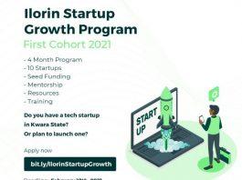 Ilorin Startup Growth Program (N2 million to N5 million in funding)