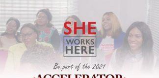 2021 She Works Here Accelerator Program