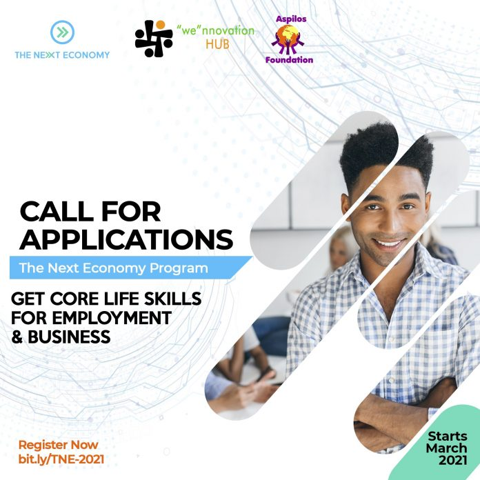 The Next Economy Skills Training Program 2021 for Young Africans
