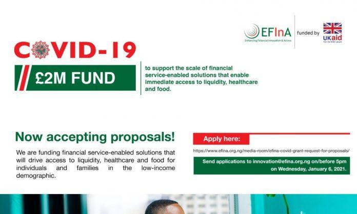 EFInA COVID-19 Grant