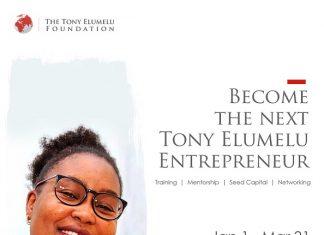 Tony Elumelu Foundation Entrepreneurship Program 2021