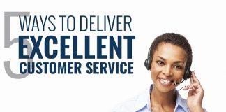 5 ways to deliver excellent customer service