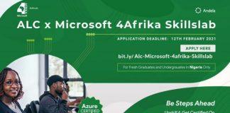 ALC x Microsoft 4Afrika Skillslab Program