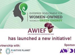 AWIEF Women in Green Energy Ventures Accelerator Programme