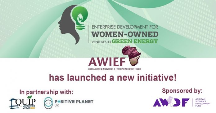 AWIEF Women in Green Energy Ventures Accelerator Programme