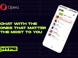 Opera launches Hype; its new dedicated chat service built into the Opera Mini browser