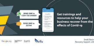 With support from Google.org, Arifu partners with Praekelt.Org to promote economic recovery of 500,000 MSMEs in Kenya, Nigeria, and South Africa