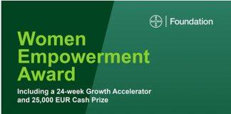 Bayer Foundation Women Empowerment Award