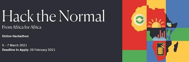 Hack The Normal Online Hackathon for African Innovators
