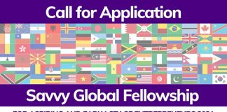 2021 Savvy Global Fellowship Program for Aspiring and Early-Stage Entrepreneurs