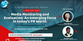 P+ Measurement Services hosts 2021 edition of her EvaluatePR event