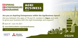 FATE Foundation Agribusiness Programme Sponsored by Mitsubishi
