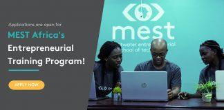 MEST Africa Entrepreneurial Training Programme 2021 for African Entrepreneurs