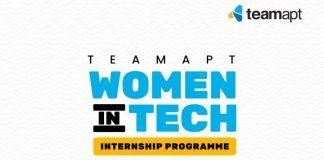 TeamApt Women in Tech 2021 Internship Program