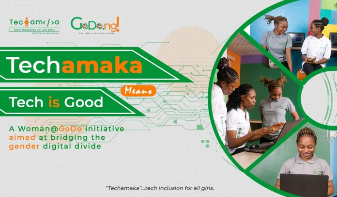 GoDo Hub celebrates IWD with the launch of Techamaka - a tech adoption program for young girls