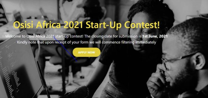 Osisi Africa 2021 Start-Up Contest (N5 million Business Funding)