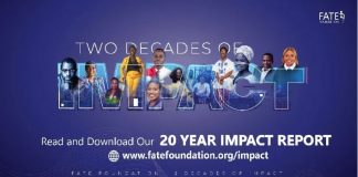 FATE Foundation Launches 20 Year Impact Report