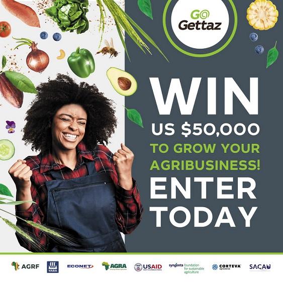 GoGettaz Agripreneur Prize 2021 ($100,000 Cash Prizes)
