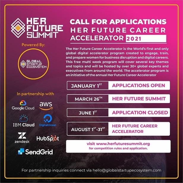3rd Annual Her Future Career Accelerator 2021