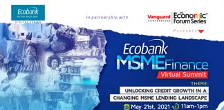 Ecobank Partners Vanguard Economic Forum Series to Convene MSME Finance Summit