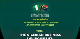 Nigeria-South Africa Chamber of Commerce Announces May 2021 Breakfast Forum