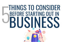 5 Things to Consider Before Starting Out in Business