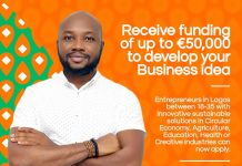 Application for the Orange Corners Nigeria (OCN) Incubation Programme is open ( Up to €50,000 Funding)