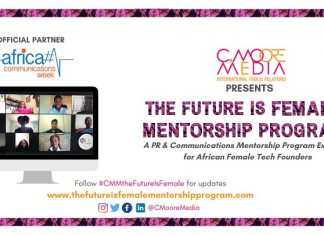 C.Moore Media Announces Partnership with Africa Communications Week for 2nd Edition of The Future is Female Mentorship Program