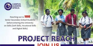 Campus Leaders Africa Trains 500 Secondary School Students in 4 Secondary Schools in South West Nigeria