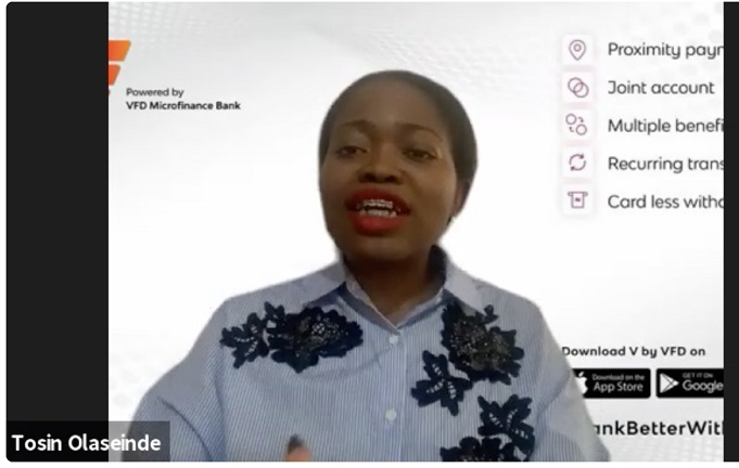 VBank hosts half-year finance webinar with Tosin Olaseinde