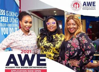 Academy for Women Entrepreneurs (AWE) 2021